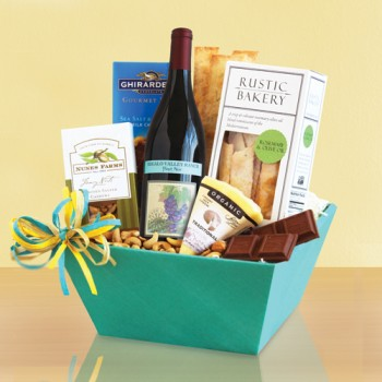 California Pinot Noir Sampler Gift Basket