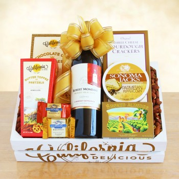 Golden State Wine Crate