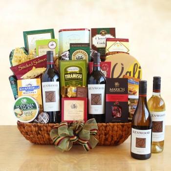 Kenwood Winery Gourmet Gift basket