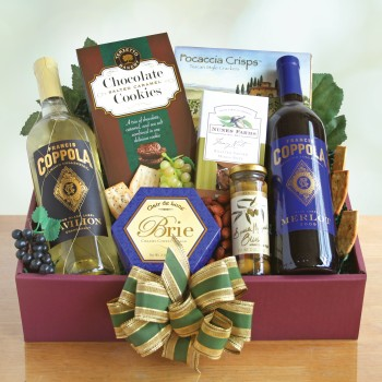 Coppola Vineyard Holiday Gift Box