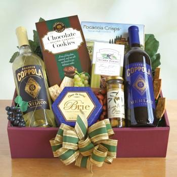 Coppola Vineyard Holiday Gift Box