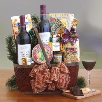 Napa Valley Wine Gift Basket