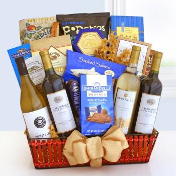 Wine Cellar Celebrations Gift Basket