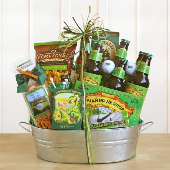 Putting Greens Sierra Nevada Beer Gift Basket