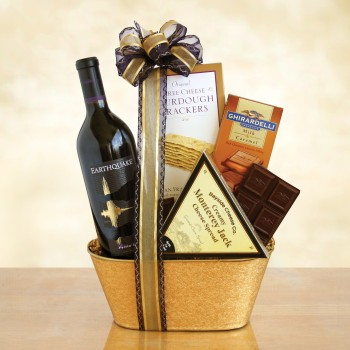 California Earthquake Wine and Gourmet Gift